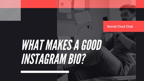 Instagram - bio